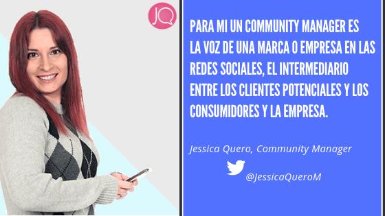 Community Manager Jessica Quero