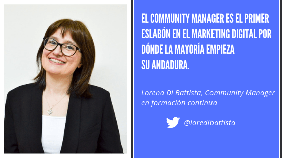 Lorena Community Manager