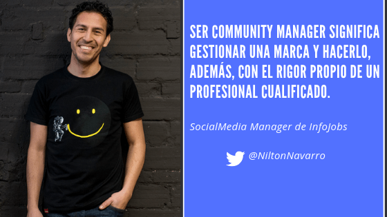 Nilton Navarro, Community Manager