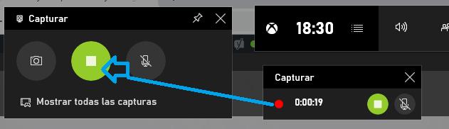 Grabación grabador Windows 10
